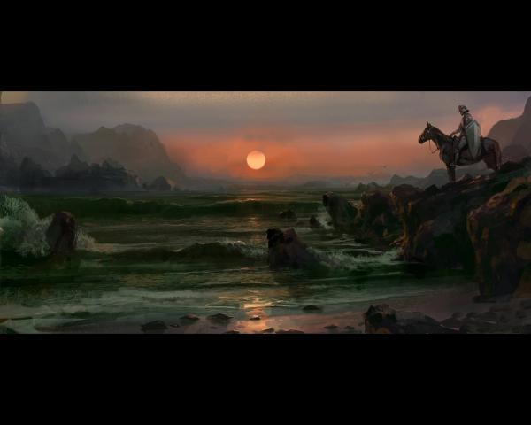 Scary Landscape Of Dream, Fantasy Scenes 2