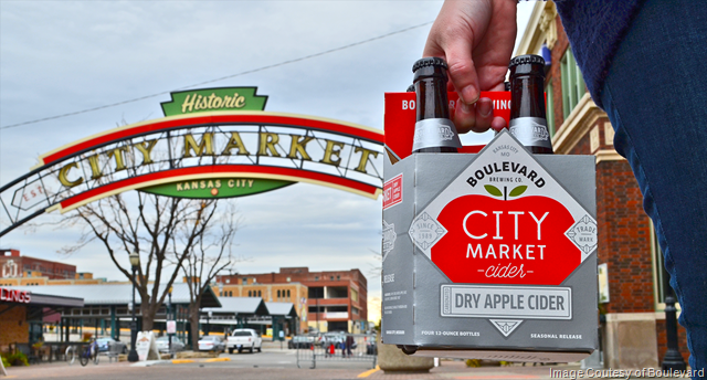 Boulevard Brewing Releasing First Ever Cider:  City Market Cider
