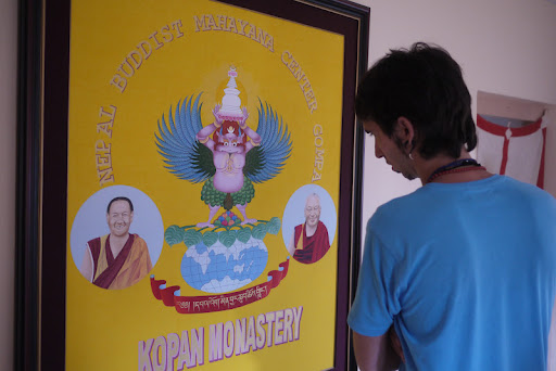 Osel in Kopan Monastery, July 2011