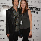 WWW.ENTSIMAGES.COM -  Martin Shore and Robyn Shore   arriving at      UK premiere of acclaimed music documentary Take Me To The River at the 22nd annual Raindance Film Festival in Vue Piccadilly, London September 28th 2014The film charts the influence of Memphis and Mississippi Delta blues musicians.                                                 Photo Mobis Photos/OIC 0203 174 1069