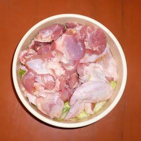 Kuřecí svalovina