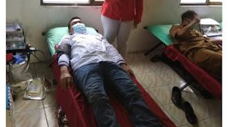 """Cibuaya Sukses Jaring Ratusan Pendonor Darah Lewat """"Dara Suci"""""""