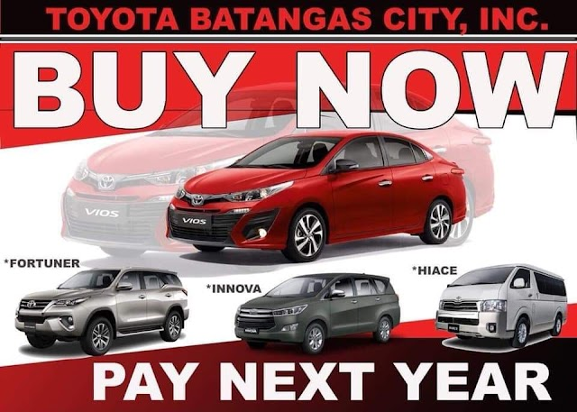 PROMO: Avail NOW & Start AMORTIZATION after 3 MONTHS!