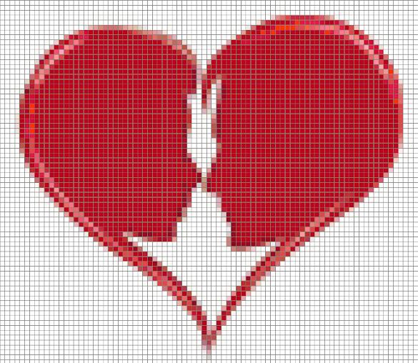 Le coeur d 39 amoureux cercle de fermi res montr al nord - Coeur d amoureux ...