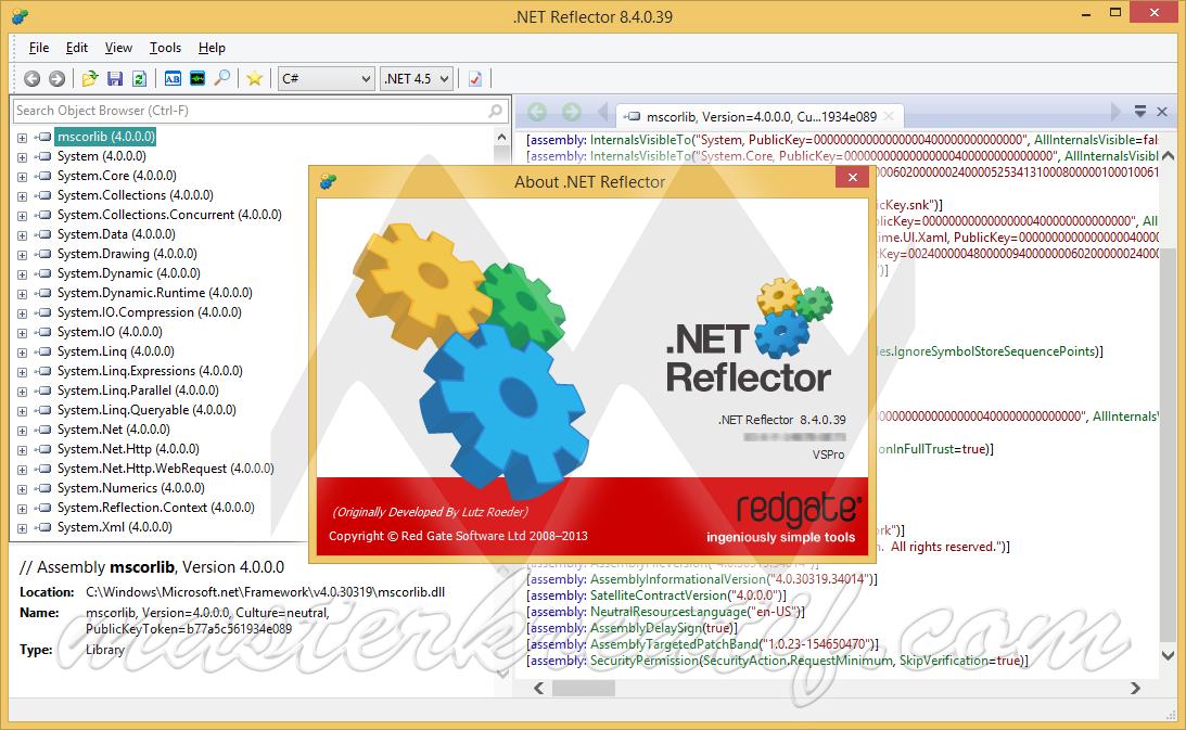 .NET Reflector 8.4
