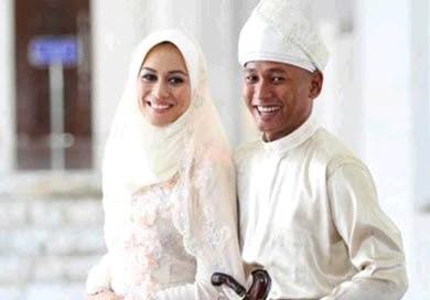 natasha hudson kahwin khalid khaza