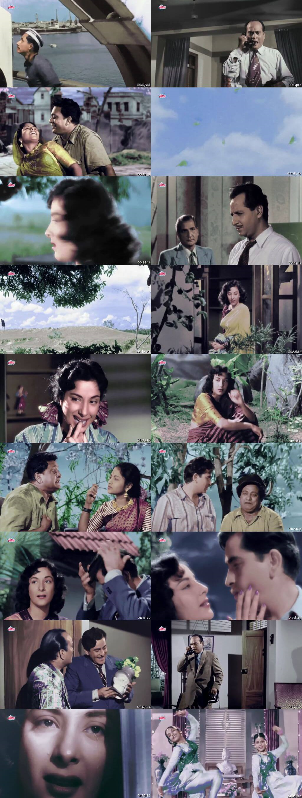 Screen Shot Of Chori Chori 1956 300MB HDRip 480P Full Hindi Movie Watch Online Free Download