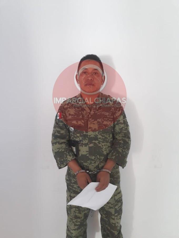 Ingresan militares feminicidas al Amate 14 en Chiapas por homicidio de Brenda Matuz en Chiapas.