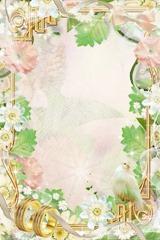floral photo frames 2