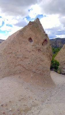 Rock Face at Kasha-Katuwe Tent Rocks National Monument