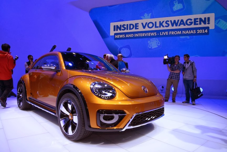 Volkswagen Beetle Dune Concept NAIAS 2