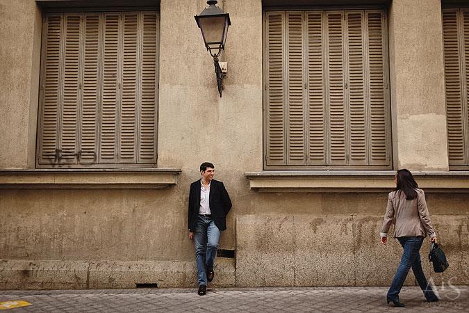 sesion de fotos preboda en Madrid