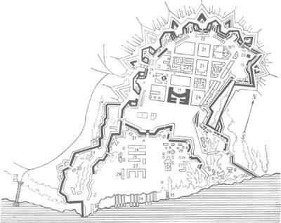 план города херсон 18век