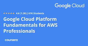 free Coursera course to learn GCP for AWS professionals