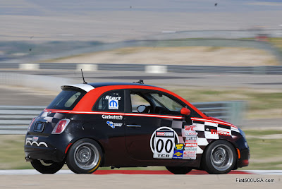 Fiat 500 B-Spec Racing Car