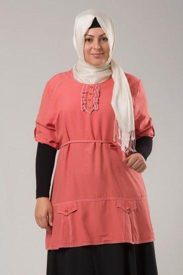 hijab fashion for plus size 2016