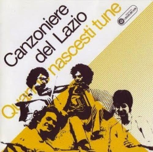 Il Canzoniere Del Lazio And Carnascialia