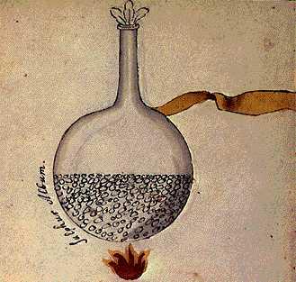 The White Sulphur From Cabala Mineralis Manuscript, Hermetic Emblems From Manuscripts 1