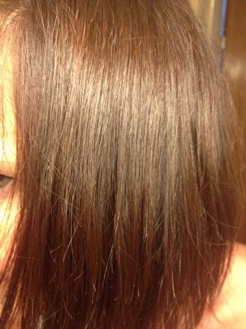 hasselnöt färg hår