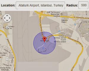 jQuery Location Picker Plugin - Chọn vị trí bản đồ trực tuyến