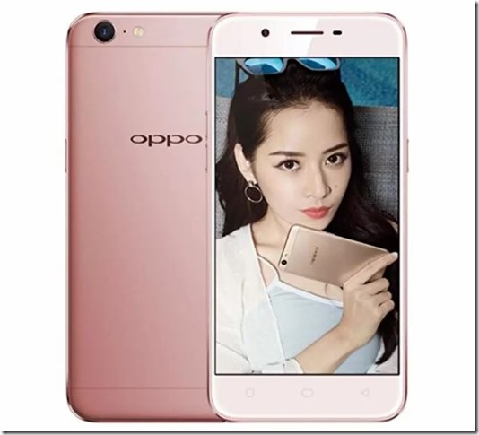 Oppo A39 Rose Gold