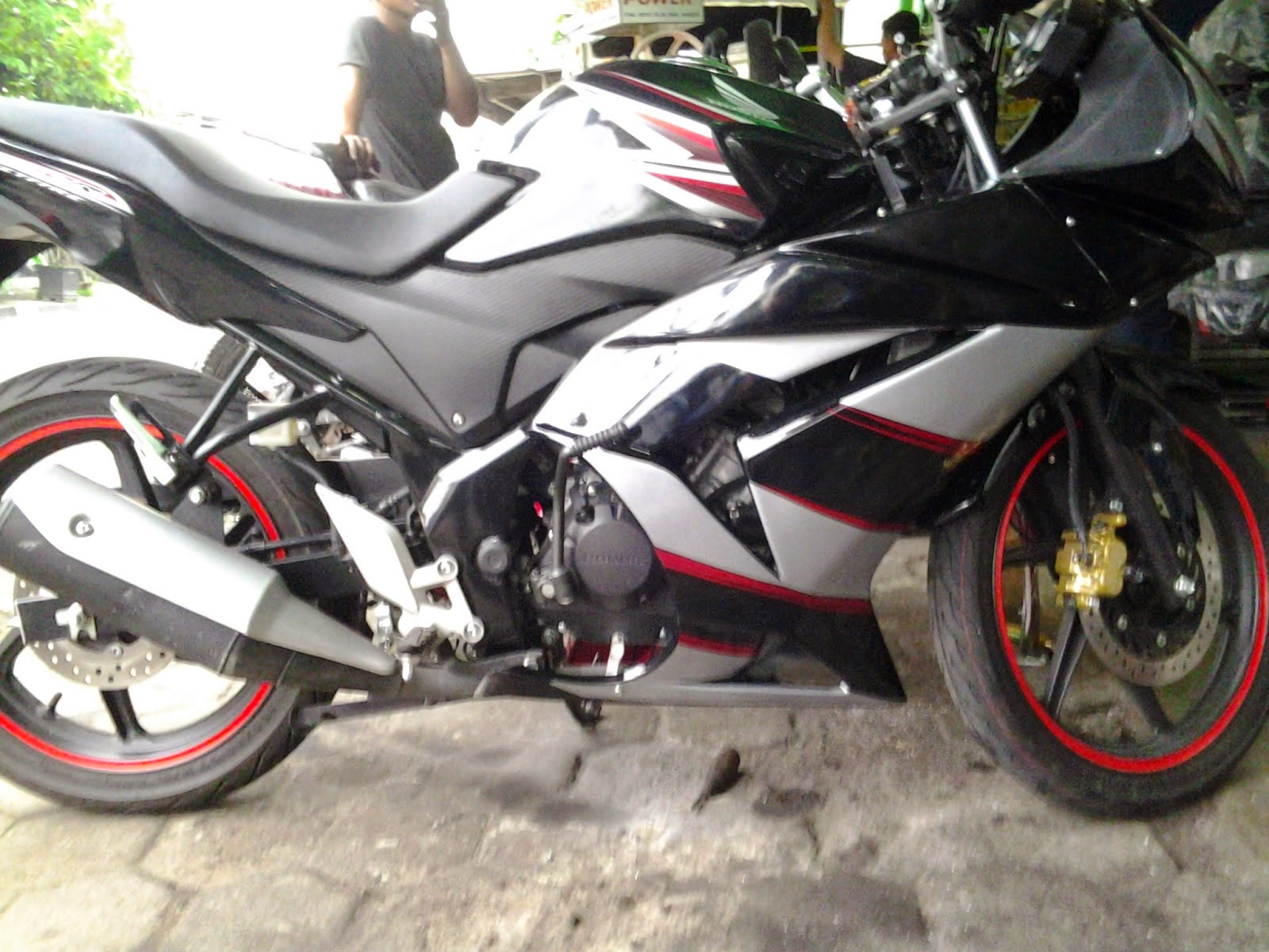 Bison Modifikasi Ninja 250