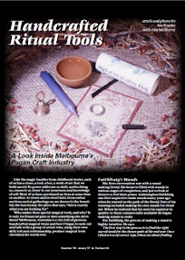 Cover of PanGaia's Book Handcrafted Ritual Tools