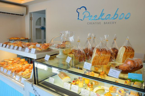 Peekaboo麵包屋~~赤峰街商圈巷弄美食.小巧店面蘊藏著豐富的烘焙美味