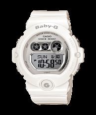 Jam Tangan Wanita Analog-Digital Tali Karet Warna Biru  Casio Baby G : BGA-180BE-2B