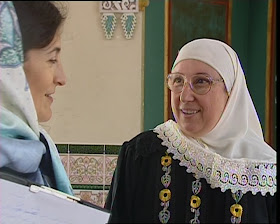 Lola Bañon y Amparo Sánchez Rosell en el CCIV 1999
