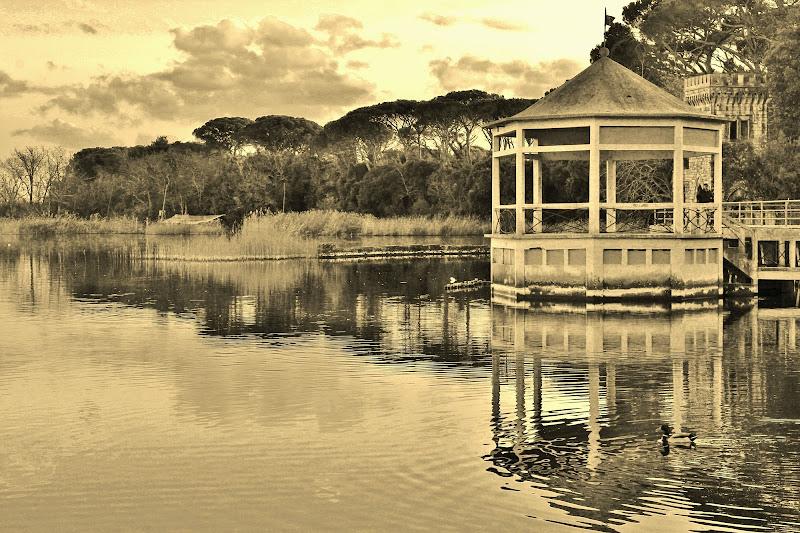 Il gazebo sul Lago di Massaciuccoli di Emme Photo