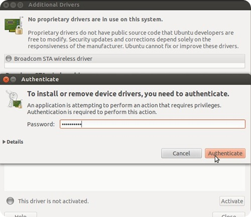 How to install proprietary drivers in Ubuntu4