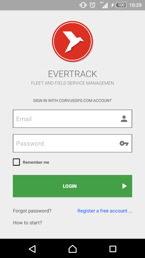 Fleet GPS Tracker - EverTrack- screenshot