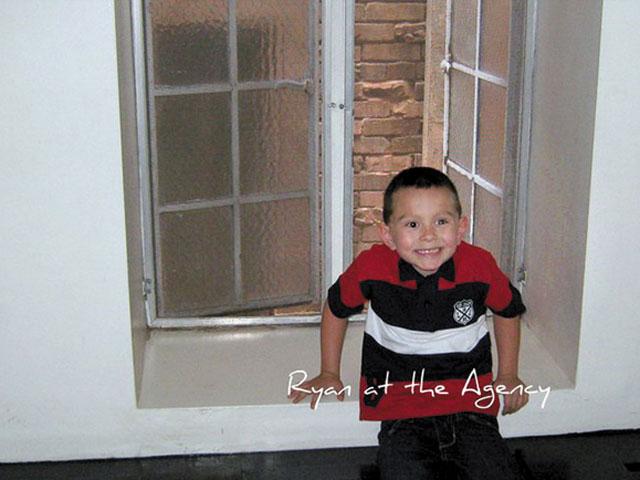 Cậu bé Ryan 5 tuổi, sống tại Oklahoma, Mỹ. Ảnh: news.com.au