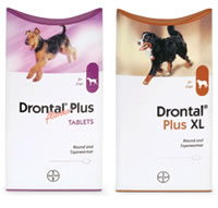 Drontal pouches
