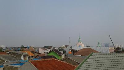 kota Jakarta di siang hari
