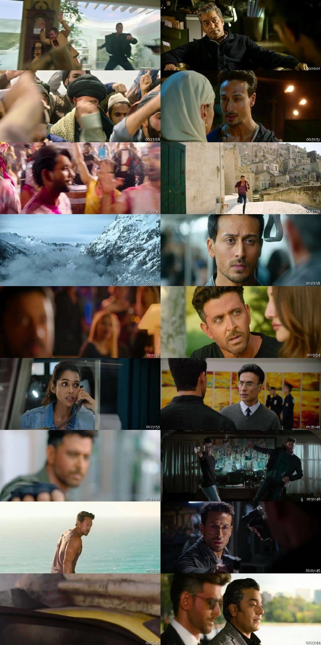 Screen Shot Of War 2019 Full Movie Free Download FHD 1080P Watch Online