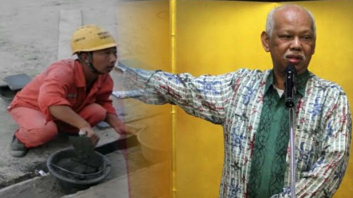 Soal 20 TKA China, Azyumardi: Proyek Strategis Nasional Apa, Kerjanya Cuma Gali Tanah-Ngelas