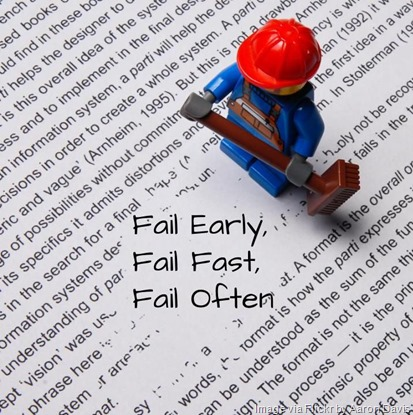 Fail early, fail fast, fail often