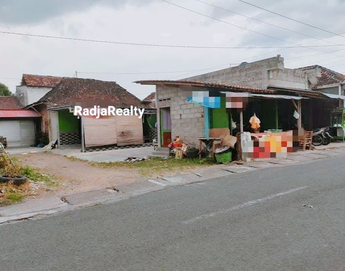 Tanah Murah Strategis Bonus Rumah dan Kios Usaha Pinggir Jalan Barat UPY PGRI Sonosewu Dalam Ringroad