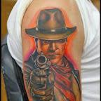 gunman - tattoo designs