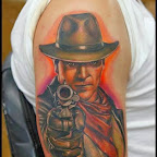 gunman - tattoo designs