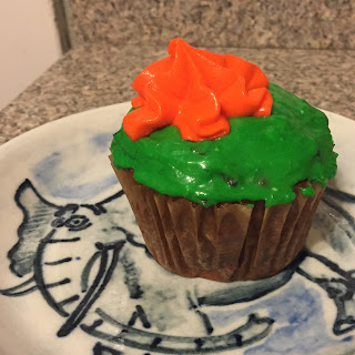 Awesome Carrot Cake Cupcakes.