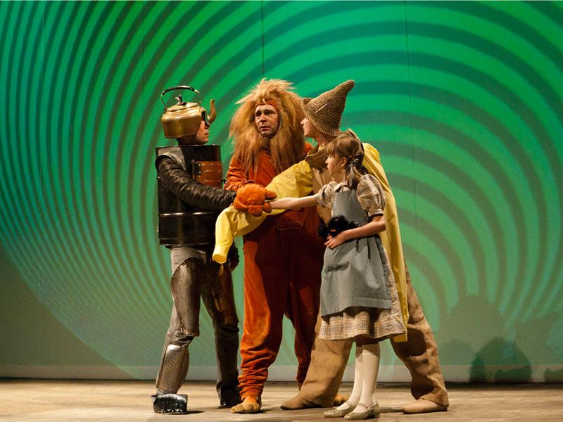 Klasa 4a i 5a w Teatrze Słowackiego