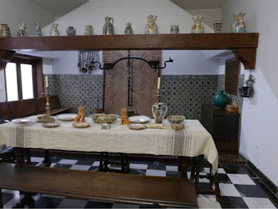 Kitchen in the Decorative Arts Museum, Madrid