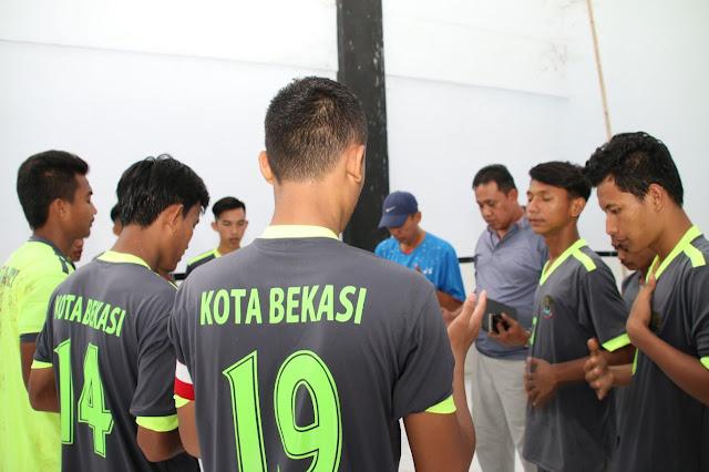 Wali Kota Bekasi Saksikan Kualifikasi Tim Sepak Bola U-21