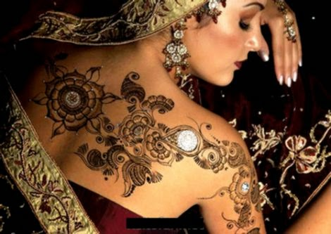 India Body Art Body Art Pictures