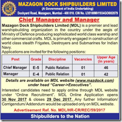 MDL Advertisement 2018 www.indgovtjobs.in