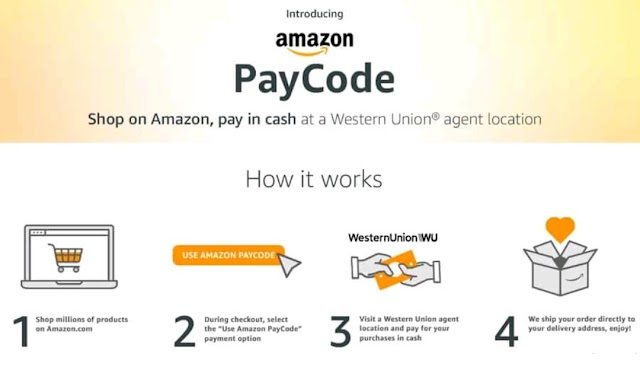 Amazon introduce paycode