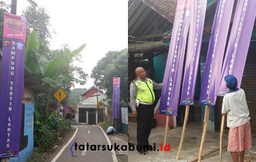 Program Korlantas Polri, Setiap Desa dan Kecamatan di Sukabumi Diharapkan Miliki Kampung Tertib Lalu Lintas